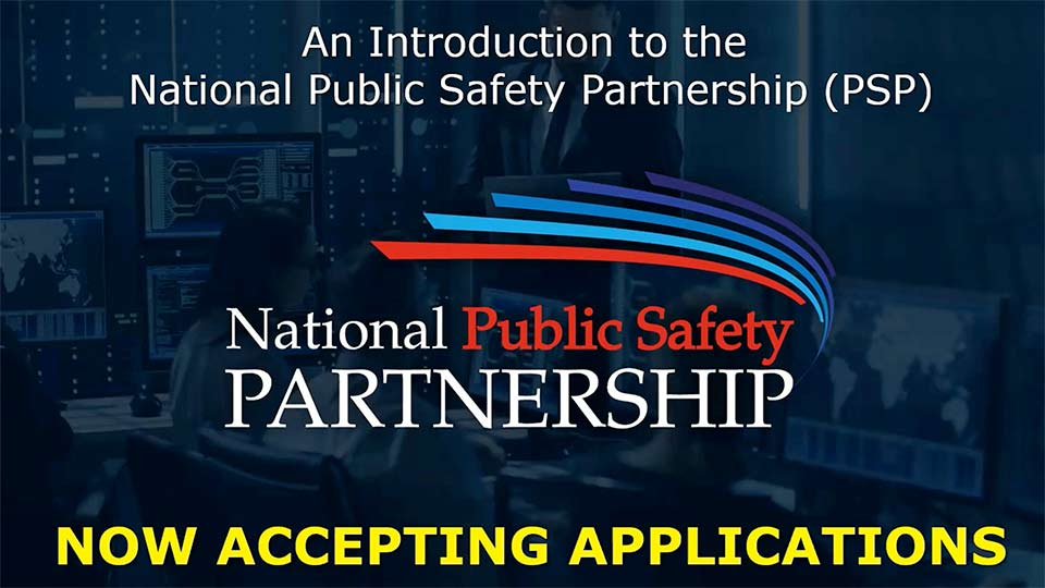 Introduction to the National Public Safety Partnership slide