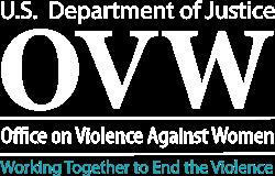 Office on Violence Against Women logo