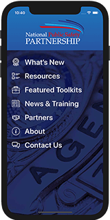 PSP Clearinghouse mobile app