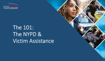 The 101: The NYPD and Victim Assistance slide