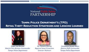 Retail Theft Reduction Strategies slide