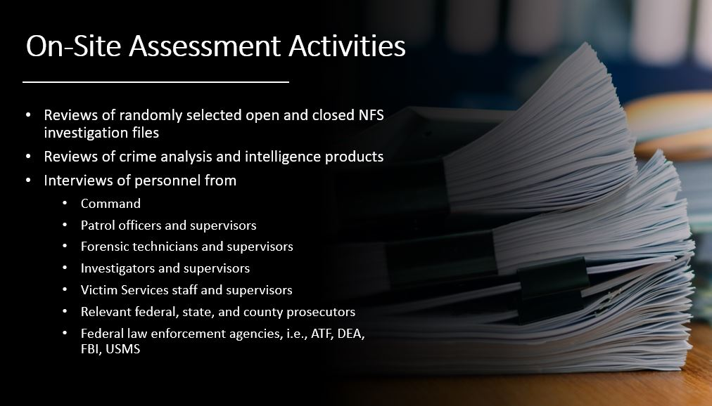 NFS Investigation Assessments slide